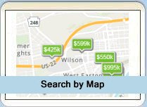 Search Lehigh Valley Real Estate by Map